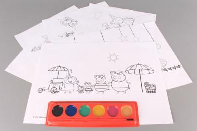 Комплект за оцветяване PEPPA PIG