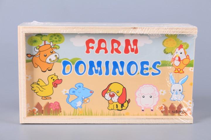 Дървено домино Ферма