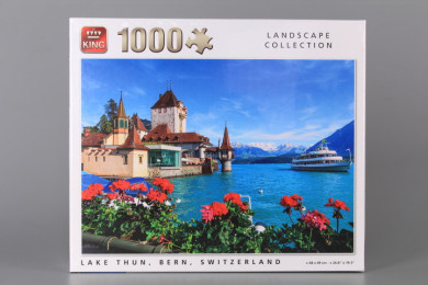 Пъзел LAKE THUN BERN SWITZERLAND - 1000 елемента