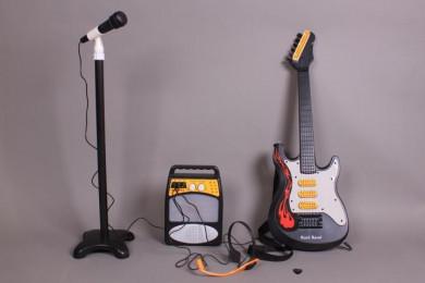 К-т Китара, микрофон и усилвател