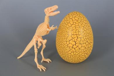 Динозавърски скелет в яйце