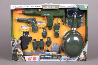 Военен комплект с каска
