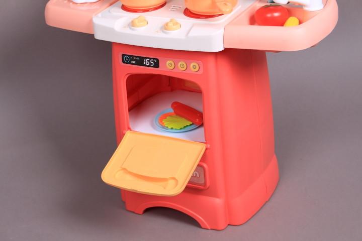 Кухня със светещи котлони, реалистични звуци и течаща вода-62 см