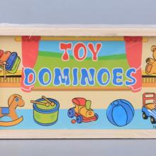 Дървено домино Играчки