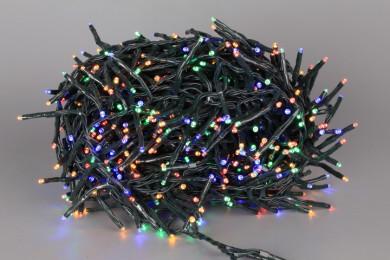 Коледни 700 LED цветни лампички - 14 m