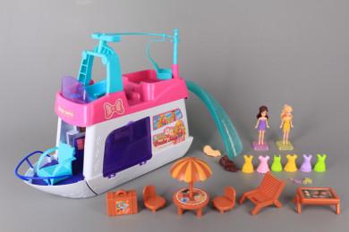 Лодка-къща за кукли