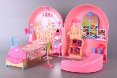 Къща за кукли-куфар