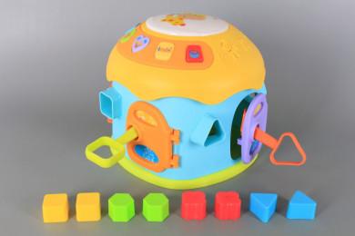 Занимателна музикална къщичка с формички