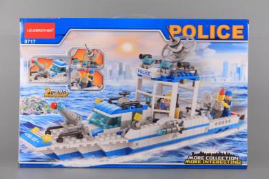 Конструктор POLICE - 602 ел - 2 в 1