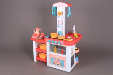 Кухня с течаща вода и светещи котлони-82 см.