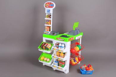 К-т Супермаркет и кошница за пазаруване