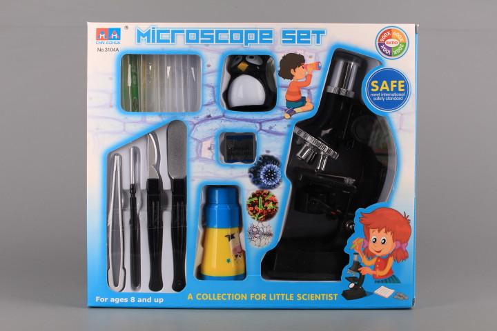 Комплект микроскоп, телескоп и калейдоскоп