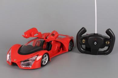 Радиоуправляема кола с отварящи се врати и зареждащи се батерии