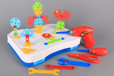 Конструктор - 3D мозайка с винтоверт