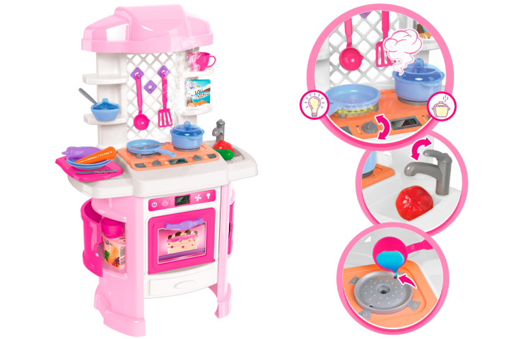 Кухня с пара