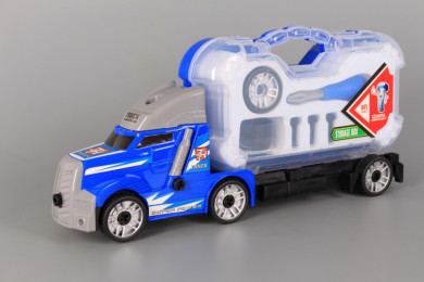Камион с куфарче-звук и светлина