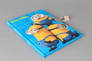 Таен дневник с катинарче MINIONS