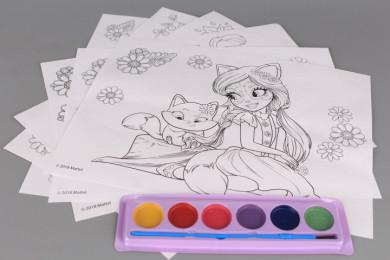Комплект за оцветяване ENCHANTIMALS
