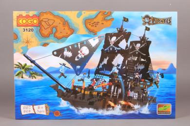 Конструктор Пиратски кораб-807 ел.