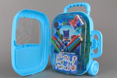 Рисувателен комплект в куфарче -  PJMASKS