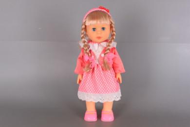Кукла Радостина-ходеща, пееща, говореща на български език