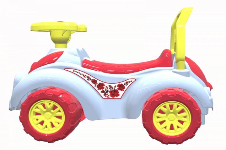 Кракомобил Роза