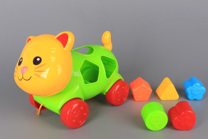 Коте с формички-сортер