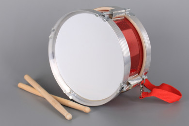 Метален барабан с дървени палки-23 см