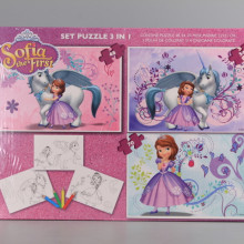 Пъзел 3 в 1 - SOFIA THE FIRST