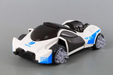 Полицейска кола с 3D светлинни ефекти