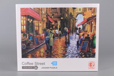 Пъзел Coffee Street - 1000 ел.