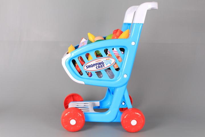 К-т Музикална количка за пазаруване с продукти
