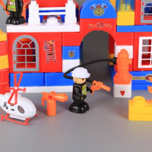 Конструктор в чанта Пожарникарски участък-112 елемента