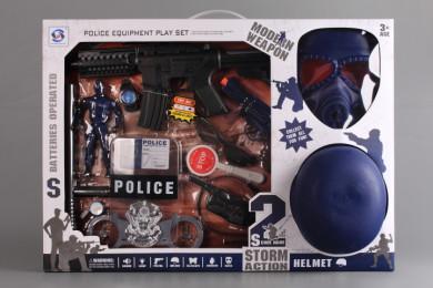 Полицейски комплект с каска