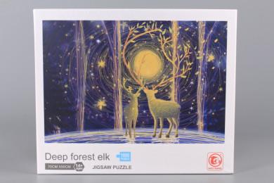 Пъзел Deep forest elk - 1000 ел.