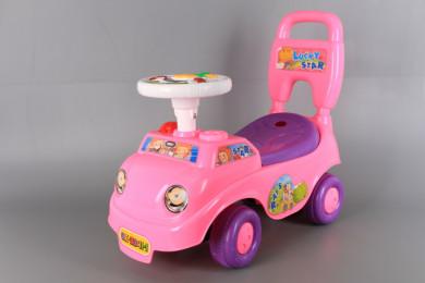 Кракомобил с багажник-музикален