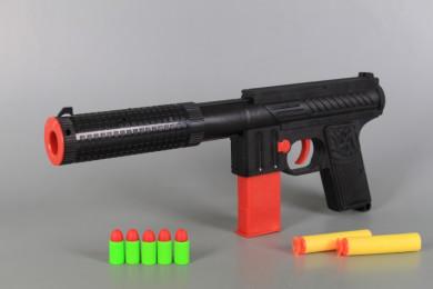 Пистолет със стрели и патрони-30 см.