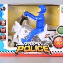 Полицай моторист със звукови и светлинни ефекти