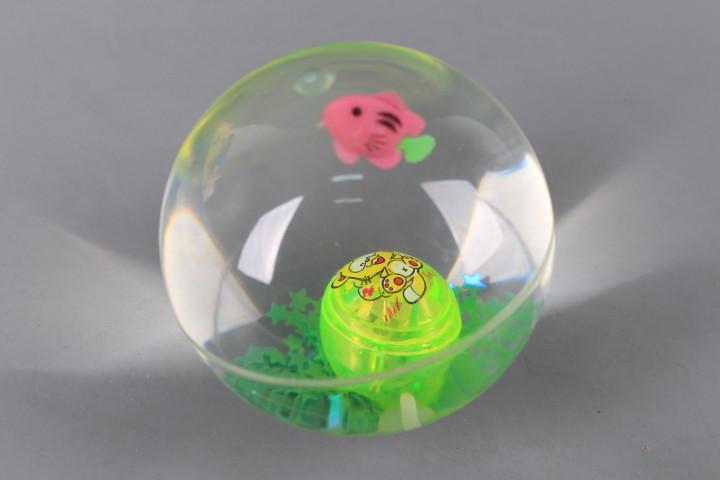 Светещо подскачащо топче - 10 см.