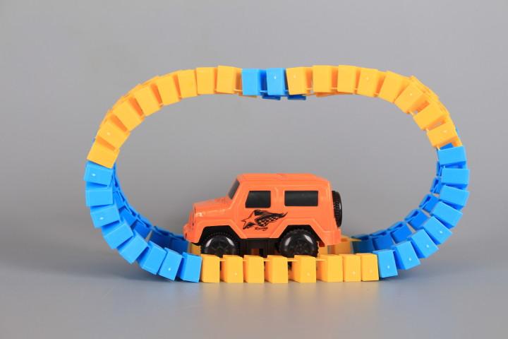 К-кт джип и път с лупинг-72 елемента