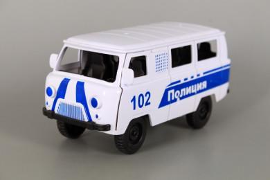 Фрикционен полицейски фургон с отваряеми врати-УАЗ
