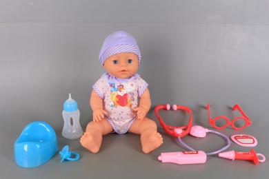 Бебе пишкащо и докторски принадлежности