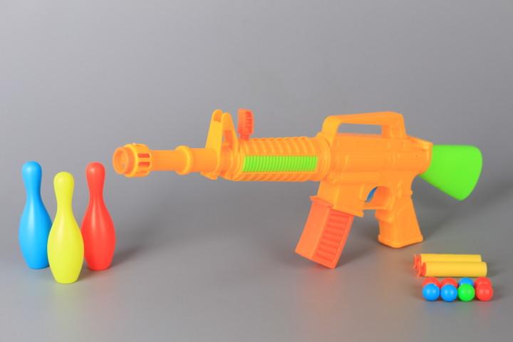 Автомат със стрели, топчета и мишени