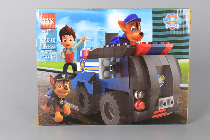 Конструктор Полицейски камион с кученце-149 елемента