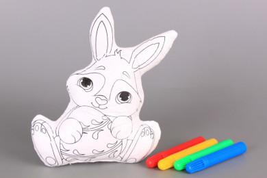 Зайче за оцветяване