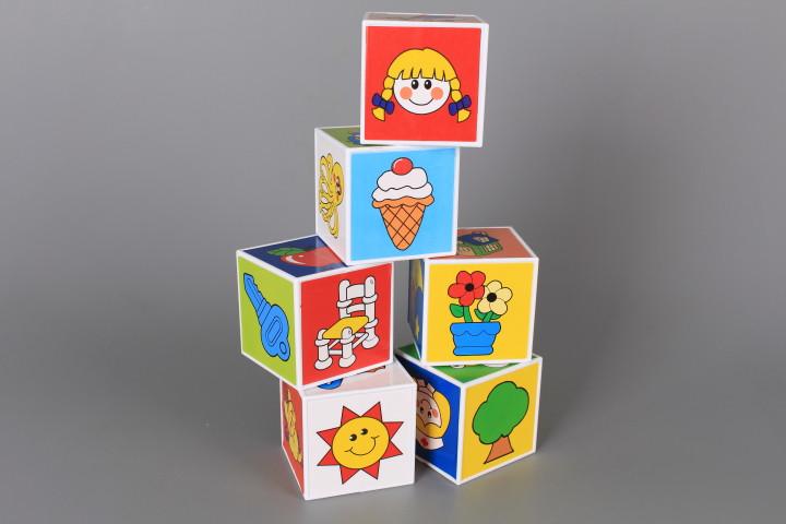Кубчета с картинки-6 бр.