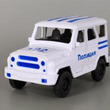 Фрикционен полицейски джип с отваряеми врати-УАЗ