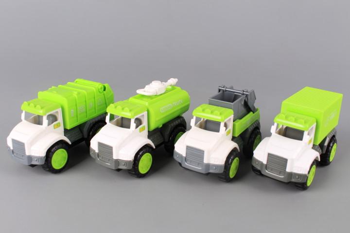 Инерционни камиони - 4 бр.