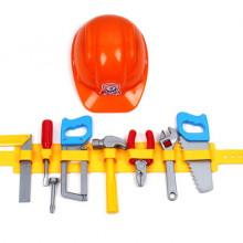 Каска, колан и инструменти