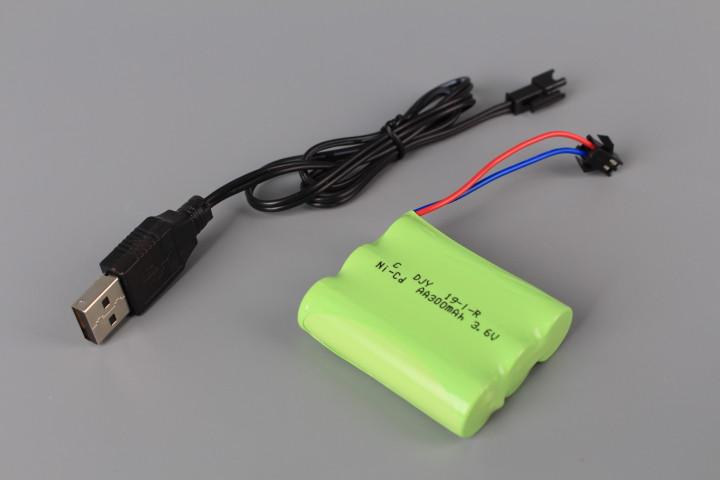 Радиоуправляем булдозер със зареждащи се батерии